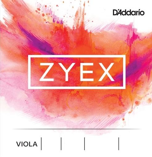 CUERDAS VIOLA D'ADDARIO ZYEX
