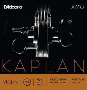 CUERDAS VIOLÍN D'ADDARIO KAPLAN AMO