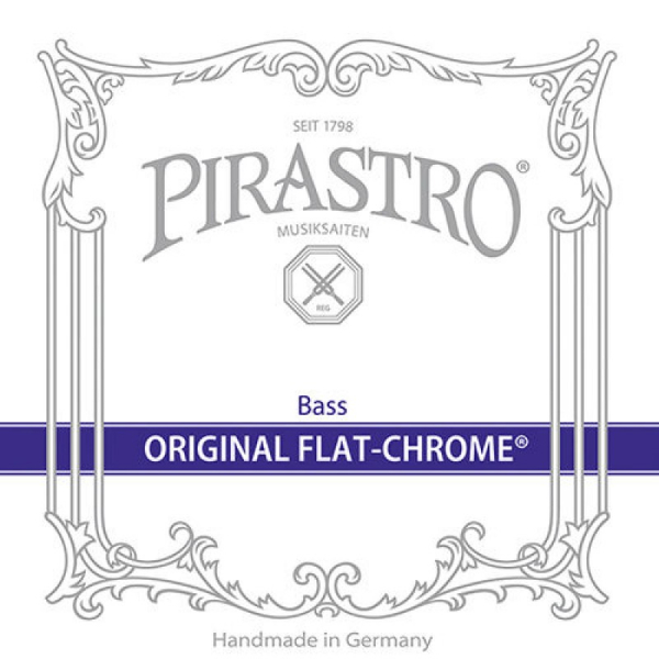 CUERDA CONTRABAJO PIRASTRO ORIGINAL FLAT-CHROME SOLOIST