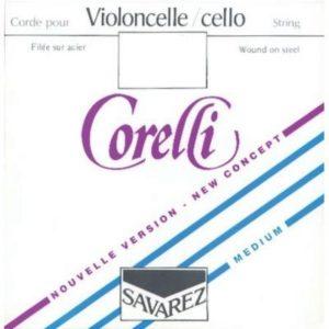 CUERDAS VIOLONCHELO CORELLI