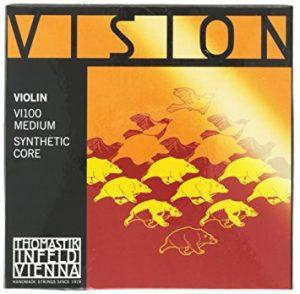 cuerdas thomastik vision violín