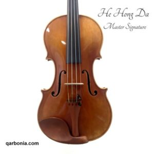 HE HOND DA violín luthier