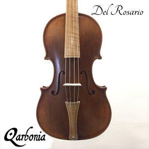violín barroco del rosario qaRBONIA