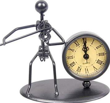 figura violín reloj regalo