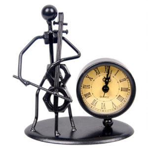 figura violonchelo reloj regalo