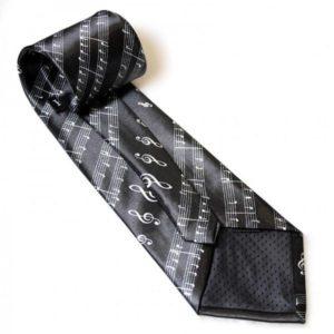 corbata regalo musical partitura 2