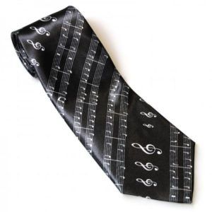 corbata regalo musical partitura
