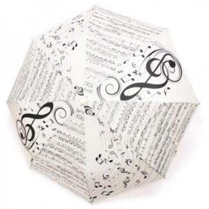 paraguas partitura regalo músicos