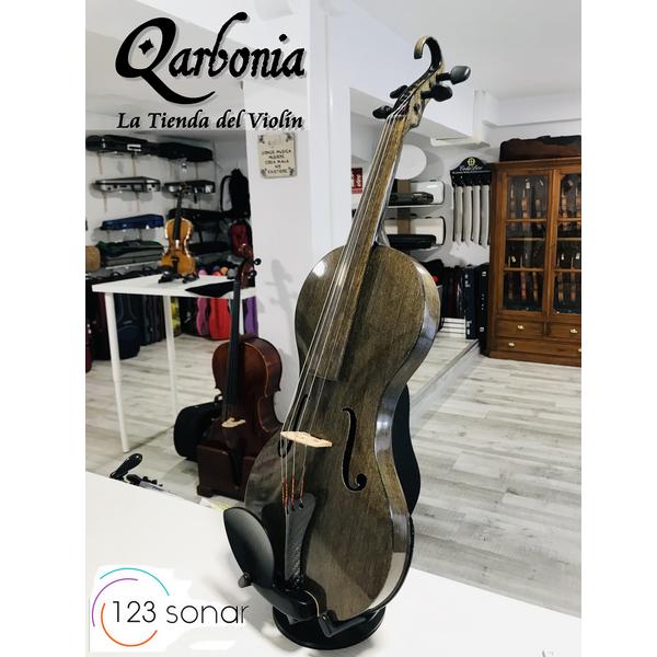 El nuevo violín de fibra de carbono #123SONAR, disponible en QARBONIA
