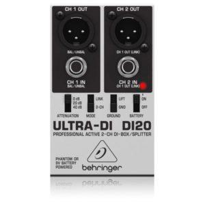 caja inyección BEHRINGER ULTRA DI20 2