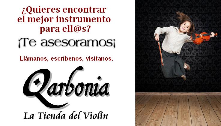 ARCO VIOLÍN CARBONO QARBONIA