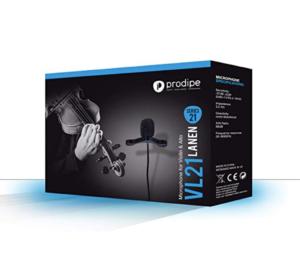 Sonido natural. Nivel de ganancia acústica alto (140dB). Con bajo nivel de acople. Adaptador mini XLR / XLR.