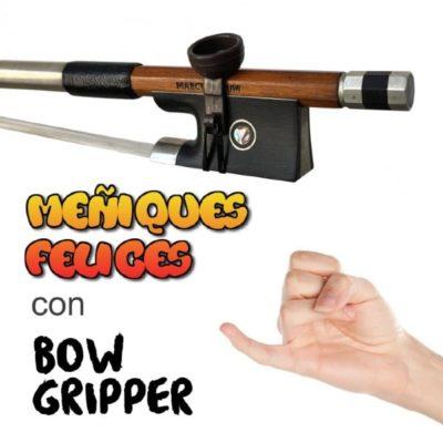 Bow Gripper, el accesorio de aprendizaje para sujetar el arco